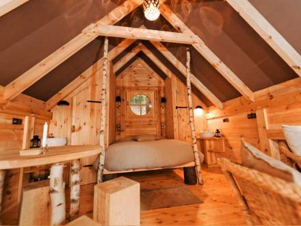 les cabanes d 39 olivier. Black Bedroom Furniture Sets. Home Design Ideas
